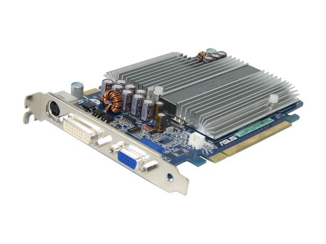 ASUS GeForce 7600GS DirectX 9 EN7600GS SILENT/HTD/256M 256MB 128-Bit GDDR2 PCI Express x16 SLI Support Video Card