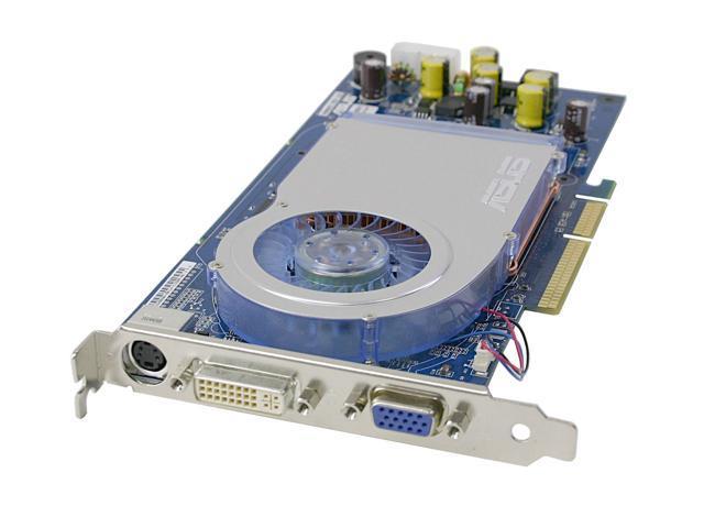 ASUS GeForce 6800GT DirectX 9 V9999GT TD 128 128MB 256 Bit DDR AGP