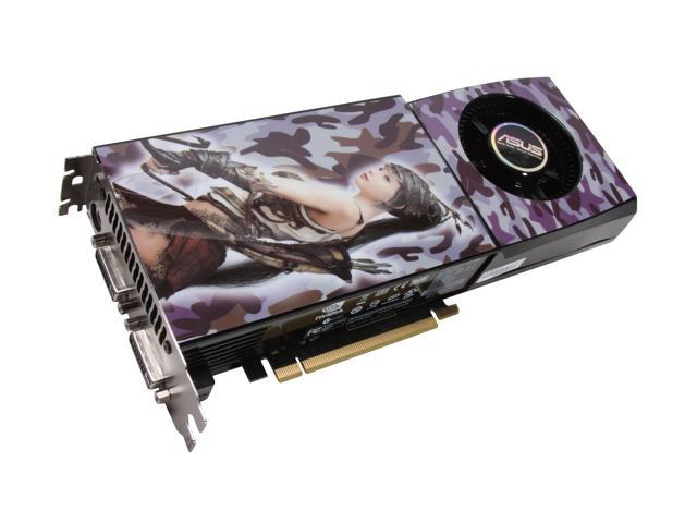 ASUS GeForce GTX 280 DirectX 10 ENGTX280/HTDP/1G 1GB 512-Bit GDDR3 PCI Express 2.0 x16 HDCP Ready SLI Support Video Card