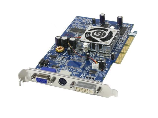 GIGABYTE Radeon 9200 GV R92128DH 128MB DDR AGP 4X 8X Video Card