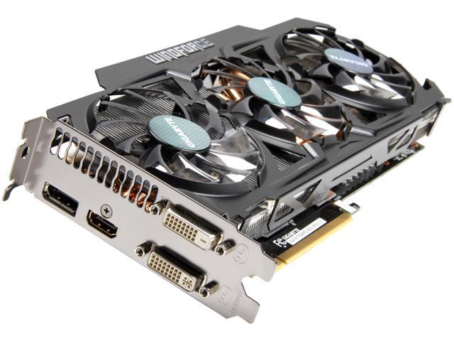GIGABYTE GeForce GTX 770 DirectX 11 1 GV-N770WF3-4GD WindForce 3X Video  Card - Newegg com
