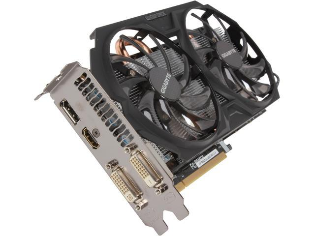 GIGABYTE Radeon R9 270 GV-R927OC-2GD 2GB 256-Bit GDDR5 PCI Express 3.0 HDCP Ready Video Card