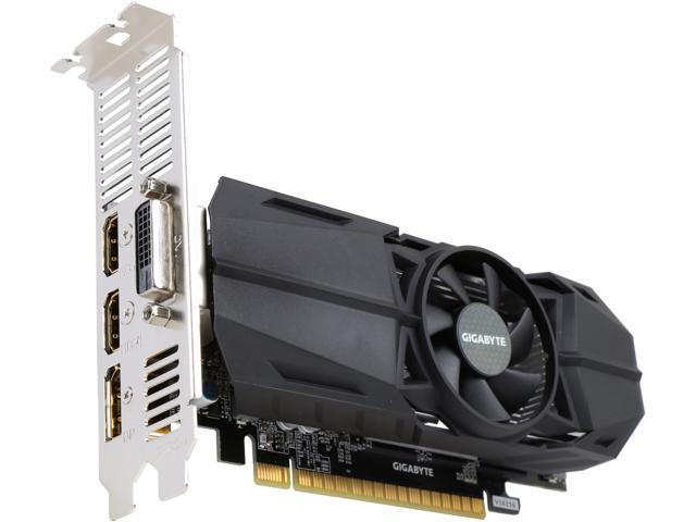 GIGABYTE GeForce GTX 1050 Ti OC Low Profile 4GB Video Card, GV-N105TOC-4GL