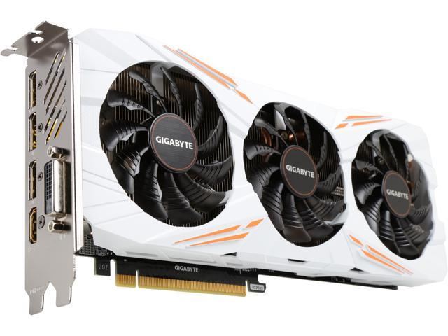 GIGABYTE GeForce GTX 1080 Ti DirectX 12 GV-N108TGAMING OC-11GD 11GB 352-Bit GDDR5X PCI Express 3.0 x16 ATX Video Card