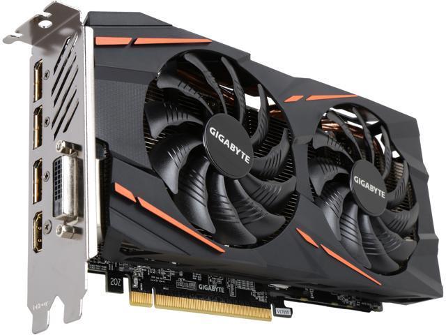 GIGABYTE Radeon RX 580 DirectX 12 GV-RX580GAMING-8GD 8GB 256-Bit GDDR5 PCI Express 3.0 x16 ATX Video Card