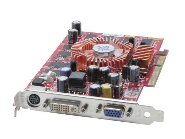 MSI GeForce 6200 DirectX 9 NX6200 TD256 256MB 128 Bit DDR AGP 4X
