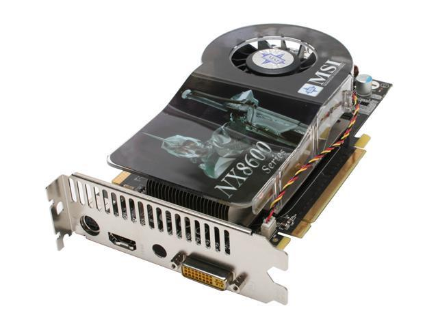 MSI GeForce 8600 GTS DirectX 10 NX8600GTS Diamond Plus 256MB 128-Bit GDDR3  PCI Express x16 HDCP Ready SLI Support Video Card - Newegg com