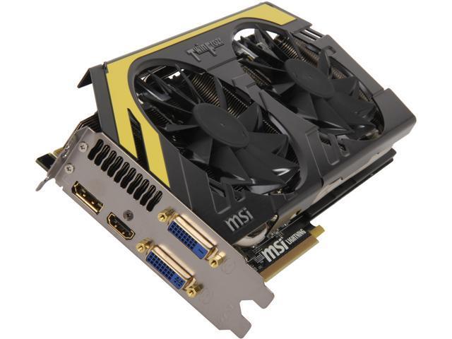 MSI GeForce GTX 770 DirectX 11 1 N770 Lightning Video Card - Newegg com