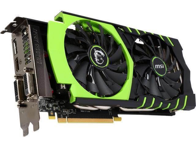 MSI GeForce GTX 970 GAMING 100ME - Newegg com