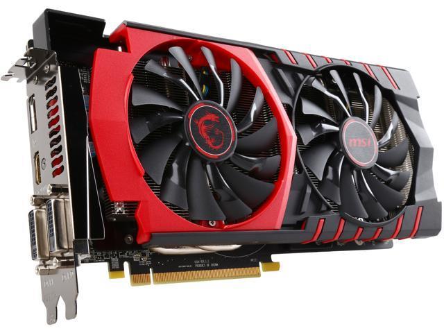 MSI Radeon R9 380 DirectX 12 R9 380 GAMING 4G Video Card - Newegg com