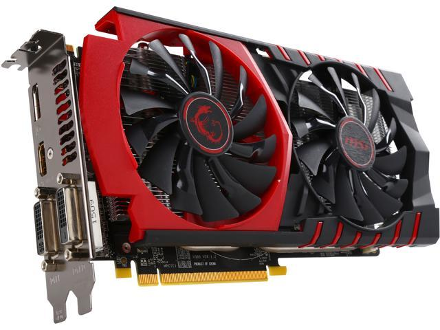 MSI Radeon R7 370 DirectX 12 R7 370 GAMING 4G Video Card - Newegg com