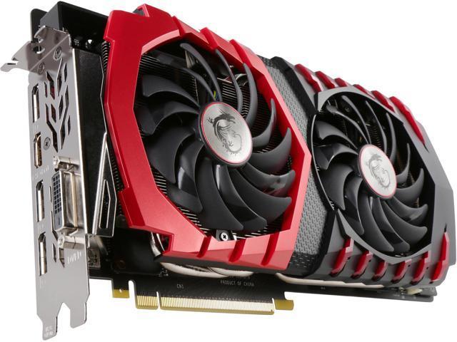MSI GeForce GTX 1080 DirectX 12 GTX 1080 GAMING X 8G Video Card - Newegg com