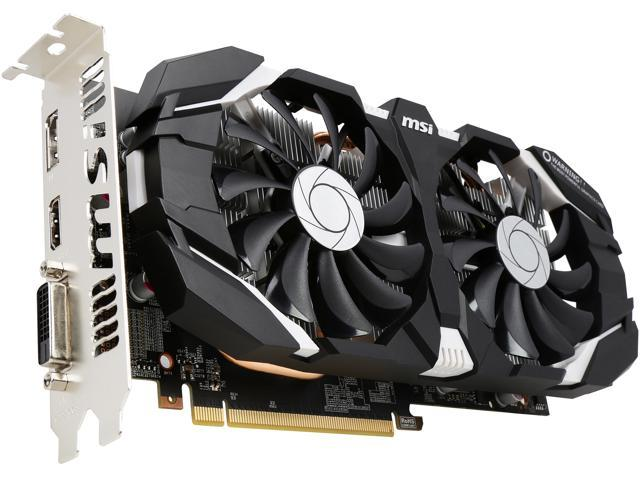 MSI GeForce GTX 1060 6GT OC GDDR5 6GB Dual Fan OC - Newegg com