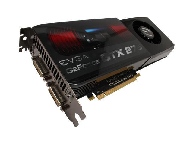 EVGA GeForce GTX 275 017-P3-1175-AR 1792MB 448-Bit DDR3 PCI Express 2.0 x16 SLI Support Video Card