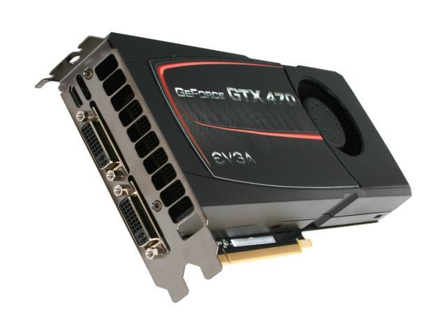 EVGA GeForce GTX 470 (Fermi) DirectX 11 012-P3-1470-AR 1280MB 320-Bit GDDR5  PCI Express 2 0 x16 HDCP Ready SLI Support Video Card - Newegg com