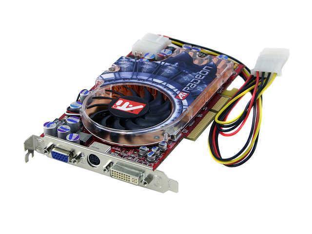 PowerColor Radeon 9800XT DirectX 9 R98T TD3 Bulk 256MB 256 Bit DDR AGP