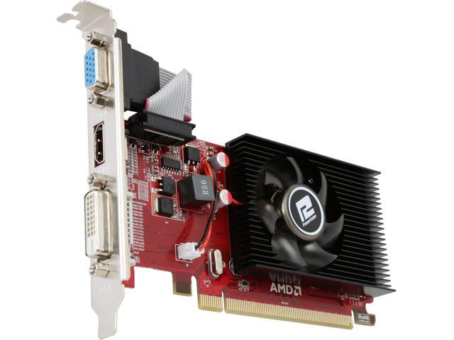PowerColor Radeon R5 230 DirectX 11 AXR5 230 2GBK3-LHE Video Cards -  Newegg com
