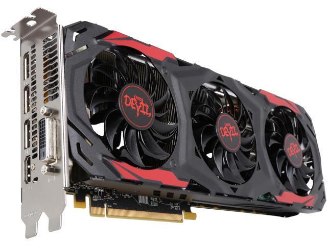 PowerColor RED DEVIL Radeon RX 570 DirectX 12 AXRX 570 4GBD5-3DH/OC Video  Card - Newegg com