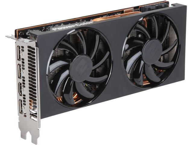 Power Color Radeon Rx 5700 Xt Direct X 12 Axrx 5700 Xt 8 Gbd6 3 Dh 8 Gb 256 Bit Gddr6 Pci Express 4.0 Cross Fire X Support Atx Video Card by Power Color