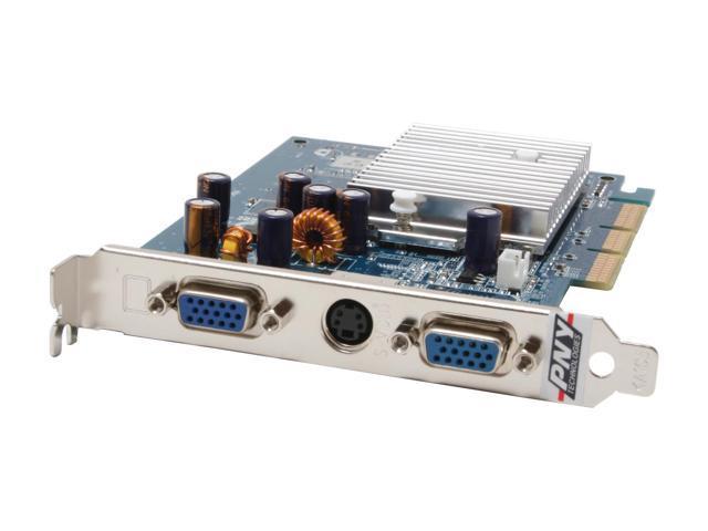 New nVIDIA GeForce FX5500 256MB 128bit DDR VGA DVI PCI Video Card VGA+DVI US 000