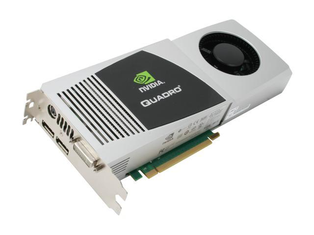 PNY Quadro FX 4800 Quadro FX 4800 VCQFX4800-PCIE-PB 1.5GB 384-bit GDDR3 PCI Express 2.0 x16 Workstation Video Card
