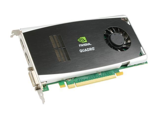 PNY Quadro FX 1800 VCQFX1800-PCIE-PB 768MB 192-bit GDDR3 PCI Express