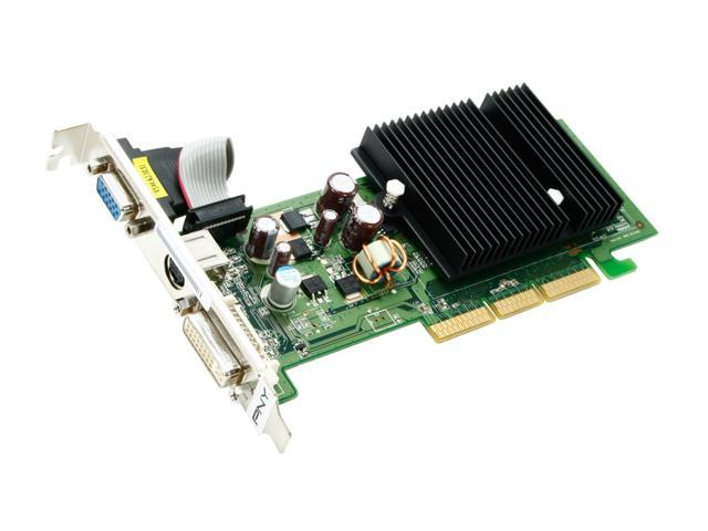 PNY GeForce 6200 DirectX 9 VCG62512AEB 512MB 64 Bit DDR2 AGP 8X Low Profile Ready