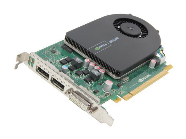 PNY Quadro 2000 VCQ2000-PB 1GB 128-bit GDDR5 PCI Express 2.0 x16