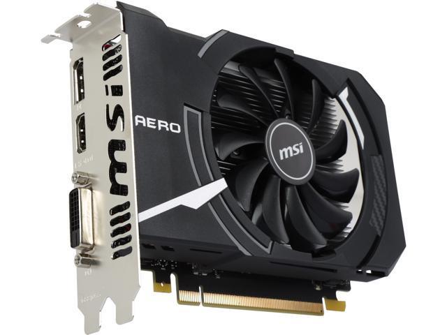 MSI GeForce GTX 1050 DirectX 12 GTX 1050 AERO ITX 2G OC Video Card -  Newegg com