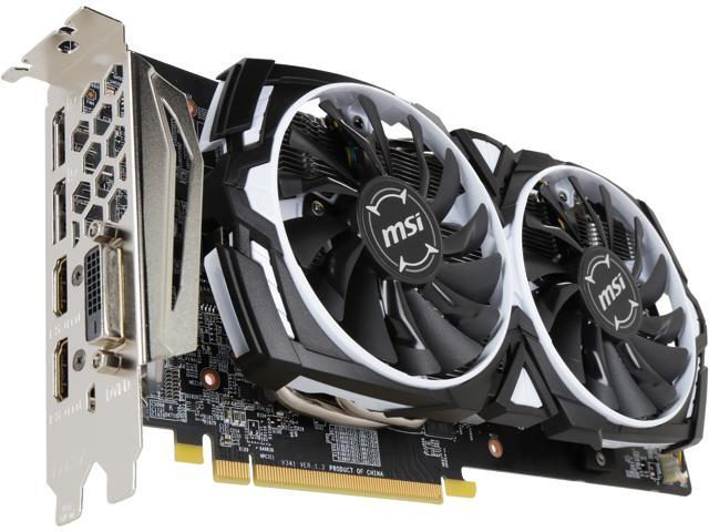 MSI Radeon RX 580 DirectX 12 RX 580 ARMOR 8G OC Video Card - Newegg com