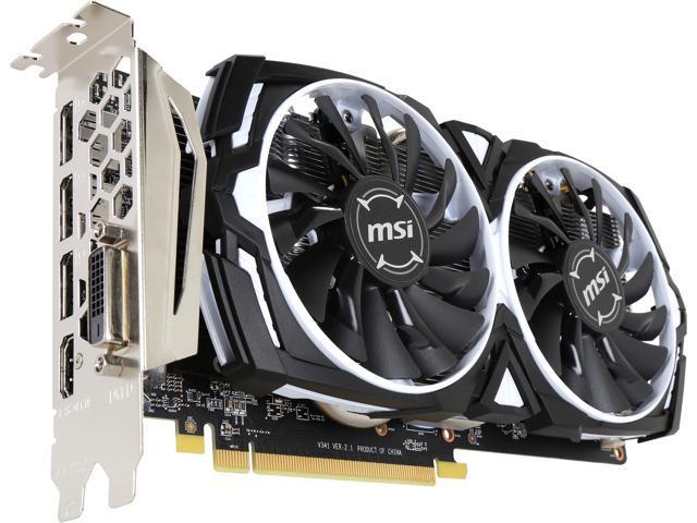 MSI Radeon RX 570 DirectX 12 RX 570 ARMOR 4G OC Video Card - Newegg ca