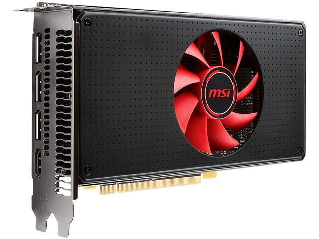 MSI Radeon RX 580 DirectX 12 Radeon RX 580 8G V1 8GB 256-Bit GDDR5 PCI Express x16 HDCP Ready CrossFireX Support Video Card