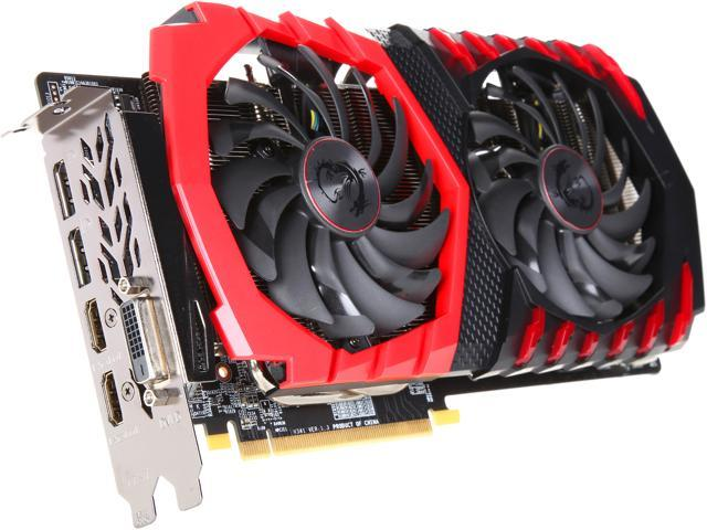 MSI Radeon RX 570 4GB 256-Bit GDDR5 GAMING X