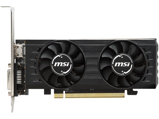 MSI Radeon RX 550 DirectX 12 RX 550 4GT LP OC Video Card - Newegg com