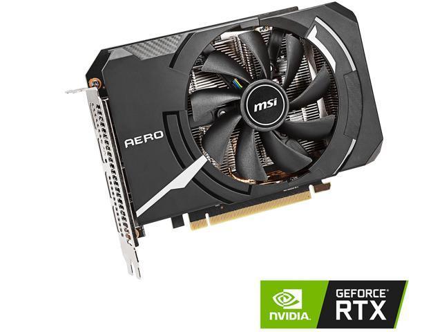 MSI GeForce RTX 2060 DirectX 12 RTX 2060 AERO ITX 6G Video Card - Newegg com