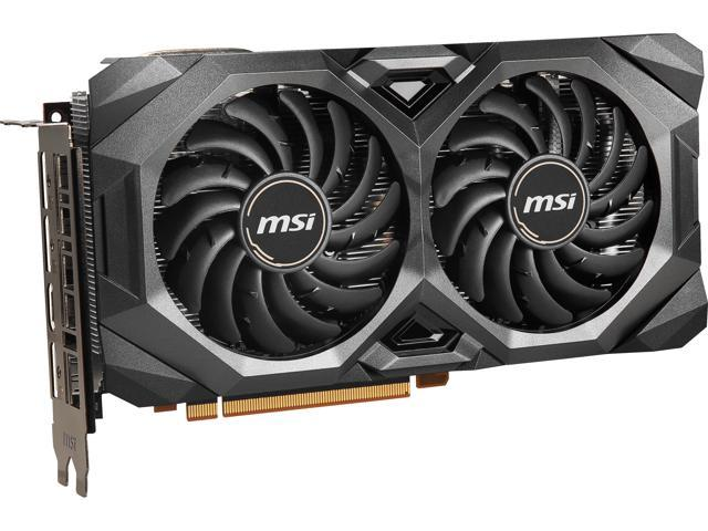 MSI Radeon RX 5700 DirectX 12 RX 5700 MECH OC 8GB 256-Bit GDDR6 PCI Express 4.0 HDCP Ready CrossFireX Support Video Card