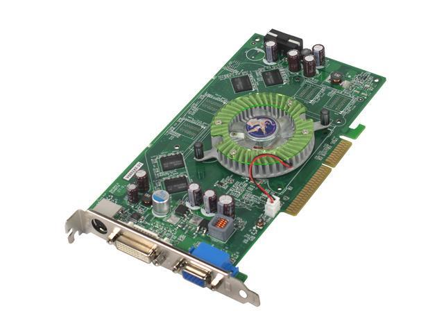 BIOSTAR GeForce 6800XE DirectX 9 V6802XE21 256MB 128-Bit GDDR2 AGP 4X/8X Video Card