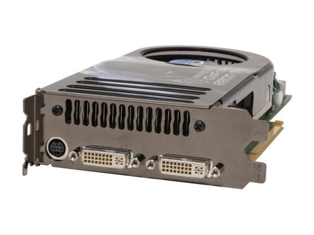 BFG Tech GeForce 8800 GTS DirectX 10 BFGR88640GTSOCE 640MB 320 Bit GDDR3 PCI Express X16