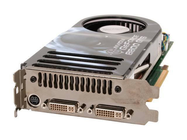 BFG Tech GeForce 8800 GTS DirectX 10 BFGR88320GTSOC2E 320MB 320 Bit GDDR3 PCI Express X16