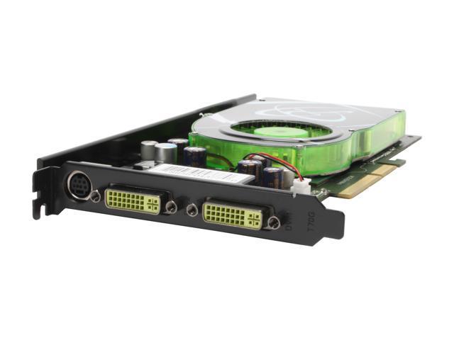 XFX GeForce 7950GT DirectX 9 PVT71AYDF3 512MB 256 Bit GDDR3 AGP 4X 8X Video