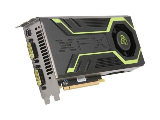XFX GeForce GTS 250 DirectX 10 GS250XZDFU 1GB 256-Bit DDR3 PCI Express 2.0 x16 HDCP Ready SLI Support Video Card