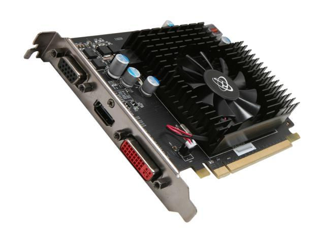 XFX Radeon HD 6670 DirectX 11 HD-667X-ZHF3 1GB 128-Bit DDR3 PCI Express 2.1 x16 HDCP Ready Video Card