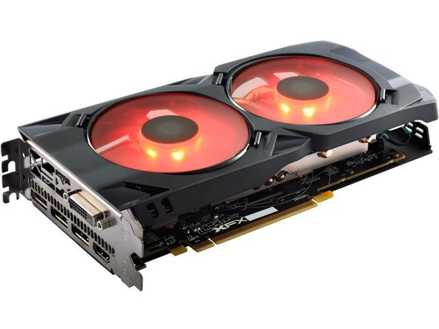 XFX Radeon RX 480 DirectX 12 RX-480P8LFR6 8GB 256-Bit GDDR5 PCI Express 3.0 CrossFireX Support Video Card - Crimson Edition