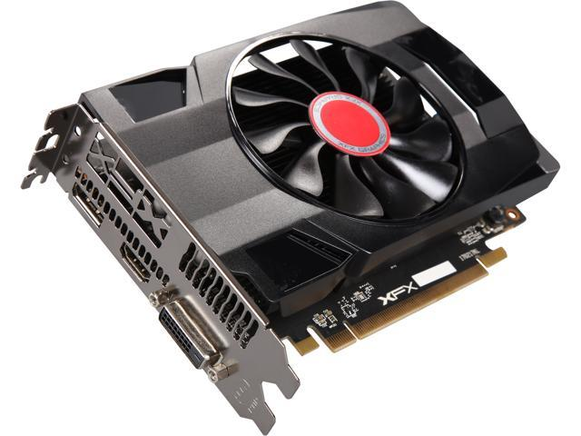 XFX Radeon RX 560 DirectX 12 RX-560P2SFG5 2GB 128-Bit DDR5 PCI Express 3.0 CrossFireX Support Video Card