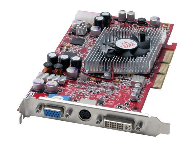 JetWay Radeon 9800XT DirectX 9 98XT AD 256D 256MB 256 Bit DDR AGP