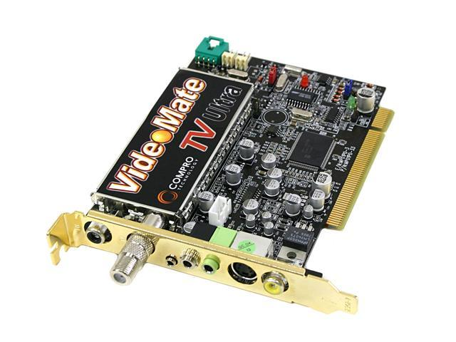 COMPRO VideoMate TV ULTRA TV Tuner Card REMOTE