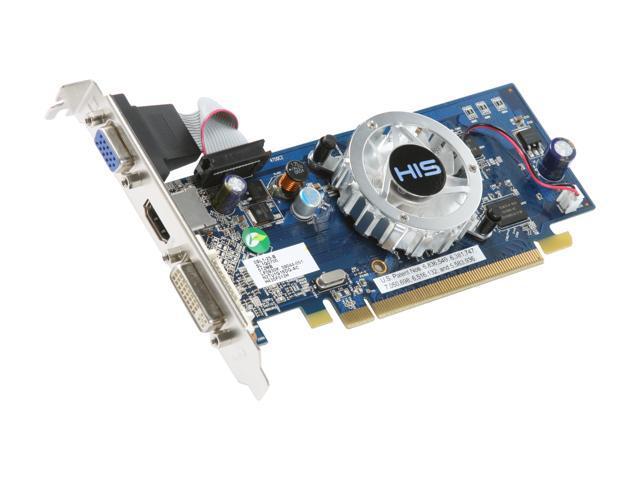HIS Radeon HD 4350 DirectX 10 1 H435F512H 512MB 64-Bit DDR2 PCI Express 2 0  x16 HDCP Ready Low Profile Ready Video Card - Newegg com