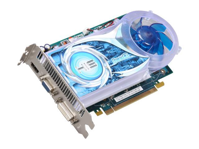 HIS Radeon HD 4670 DirectX 10.1 H467QR1GH 1GB 128-Bit DDR3 PCI Express 2.0 x16 HDCP Ready CrossFireX Support Video Card