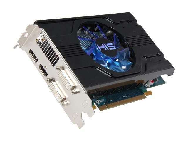 HIS Radeon HD 6770 DirectX 11 H677FN1GD 1GB 128-Bit GDDR5 PCI Express 2.1 x16 HDCP Ready CrossFireX Support Video Card with Eyefinity