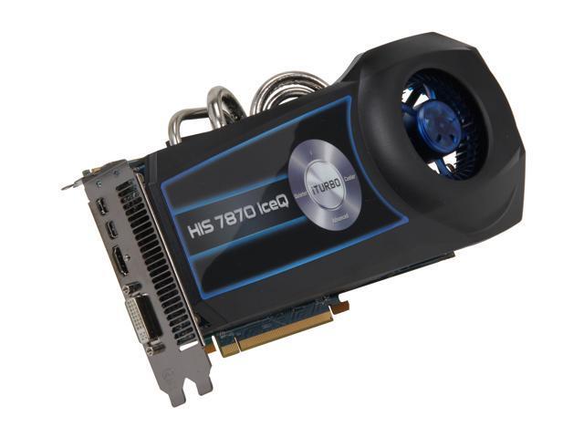 HIS IceQ Radeon HD 7870 GHz Edition DirectX 11 H787Q2G2M 2GB 256-Bit GDDR5  PCI Express 3 0 x16 HDCP Ready CrossFireX Support Video Card - Newegg com